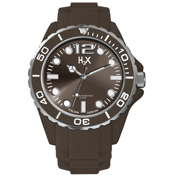 Haurex H2X Mens Reef Brown Watch