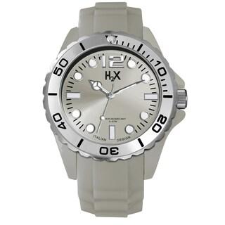 Haurex H2X Mens Reef Silver Watch