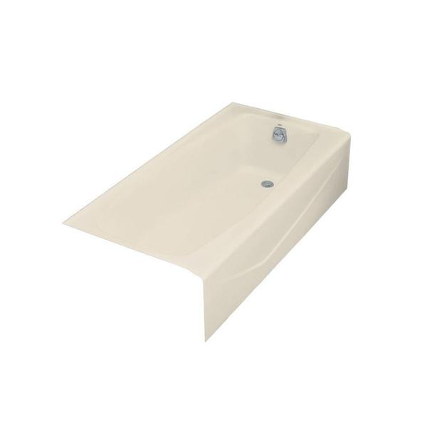 Kohler Villager 5 Foot Right-hand Drain Cast Iron Bathtub