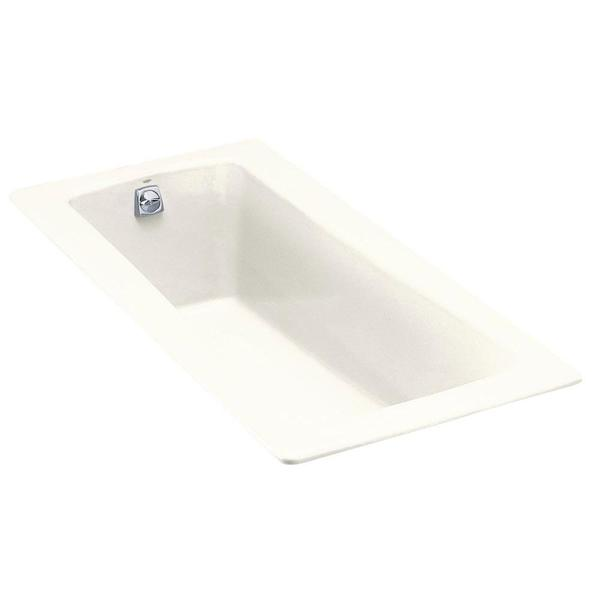 Kohler Maestro 5.5 FootReversible Drain Cast Iron Soaking Tub in White