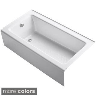 Bellwether 5 Foot Left-hand Drain Cast-iron Soaking Tub