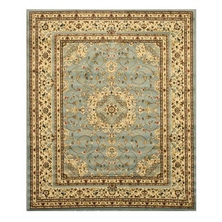 EORC Blue Esfahan Rug (7'10 x 9'10)