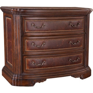 White Oak and Walnut Accent Drawer Chest with Three Drawers