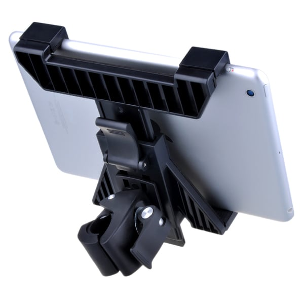 Microphone Stand 360-degree Swivel Tablet Mount for 7 to 12-inch Tablets