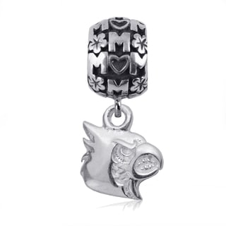 Louisville Sterling Silver Mom Charm Bead