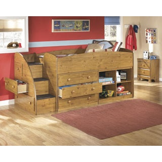 Signauture Design by Ashley Stages Brown Twin-size Loft Bed Set