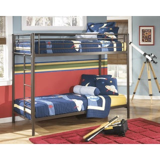 Signature Design by Ashley Benjamin Twin-size Metal Bunk Bed