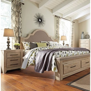 Signature Design by Ashley Annilynn Brown King-size Poster Bed