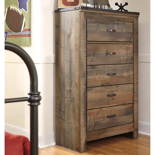 Signature Design by Ashley Trinell Brown 5-drawer Chest