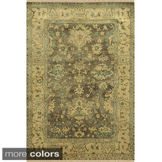 Rizzy Home Aquarius Hand-knotted Hand-spun Accent Rug (9' x 12')