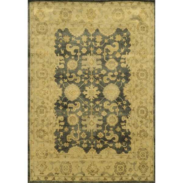 Rizzy Home Aquarius Hand-spun Hand-knotted Accent Rug (9' x 12')