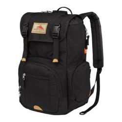 High Sierra Emmett Black Tablet Rucksack Backpack