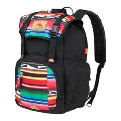 High Sierra Emmett Black/Serape Tablet Rucksack Backpack