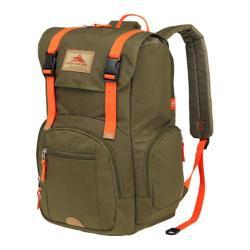 High Sierra Emmett Moss/Electric Orange Tablet Rucksack Backpack