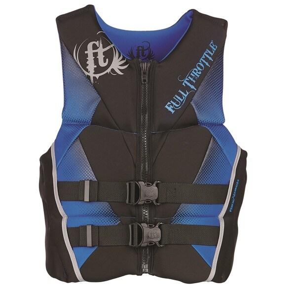 Full Throttle Youth Hinged Rapid-Dry Flex-Back Vest