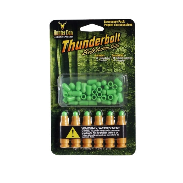 Hunter Dan Thunderbolt Accessory Pack with Bullets & Cartridges