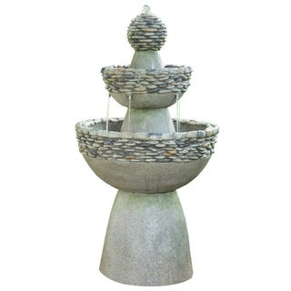 Peaktop Outdoor Garden Zen 3-level Fountain