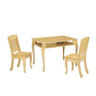 Teamson Kids Windsor Rectangular Table and Chairs Set