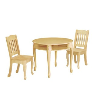 Teamson Kids Windsor Round Table and Chairs Set