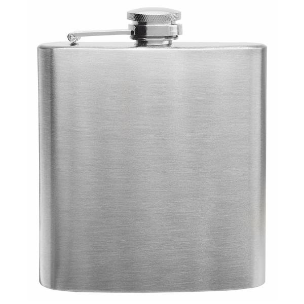Stainless Steel 6-ounce Hip Flask