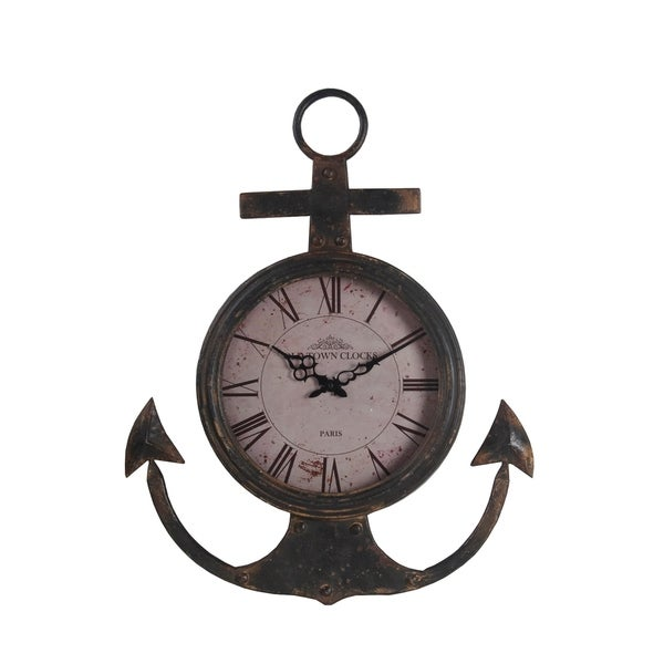 Privilege Anchor Wall Clock