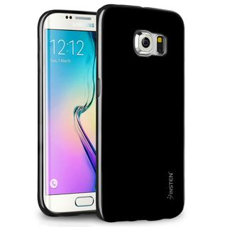 Insten Jelly TPU Rubber Candy Skin Phone Case Cover For Samsung Galaxy S6 Edge