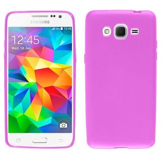 Insten TPU Rubber Candy Skin Phone Case Cover For Samsung Galaxy Grand Prime