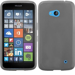 Insten Smoke Frosted TPU Rubber Candy Skin Phone Case Cover For Microsoft Lumia 640