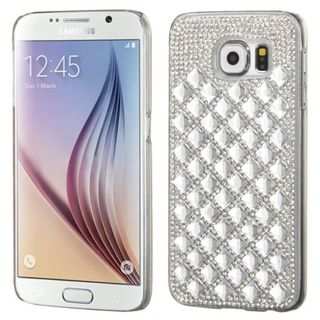 Insten Hard Snap-on Rhinestone Bling Phone Case Cover For Samsung Galaxy S6