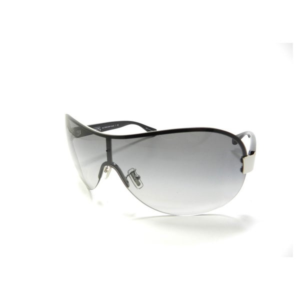 Coach L921 Liana Sunglasses (Silver/Black Frame)
