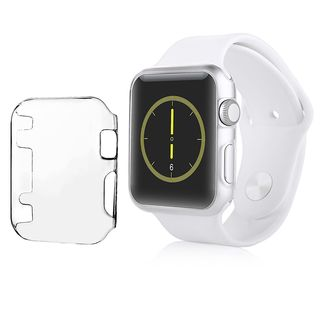 Insten Clear Hard Snap-on Crystal Smart Watch Case for 42mm Apple Watch
