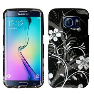 Insten Design Pattern Hard Snap-on Rubberized Matte Phone Case Cover For Samsung Galaxy S6 Edge