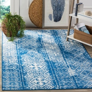 Safavieh Adirondack Silver/ Blue Rug (6' x 9')