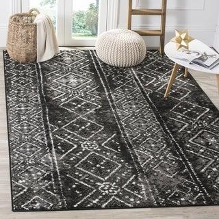 Safavieh Adirondack Black/ Silver Rug (6' x 9')