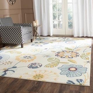 Safavieh Evoke Cream/ Gold Rug (8'6 x 12')