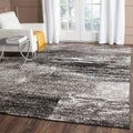 Safavieh Adirondack Modern Abstract Silver/ Black Rug (9' x 12')