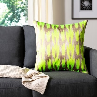 Safavieh Boho Chic Neon Citrus Throw Pillows (20-inches x 20-inches) (Set of 2)