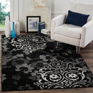 Safavieh Adirondack Black/ Silver Rug (4' x 6')