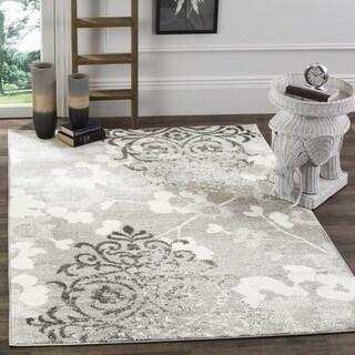 Safavieh Adirondack Silver/ Ivory Rug (4' x 6')