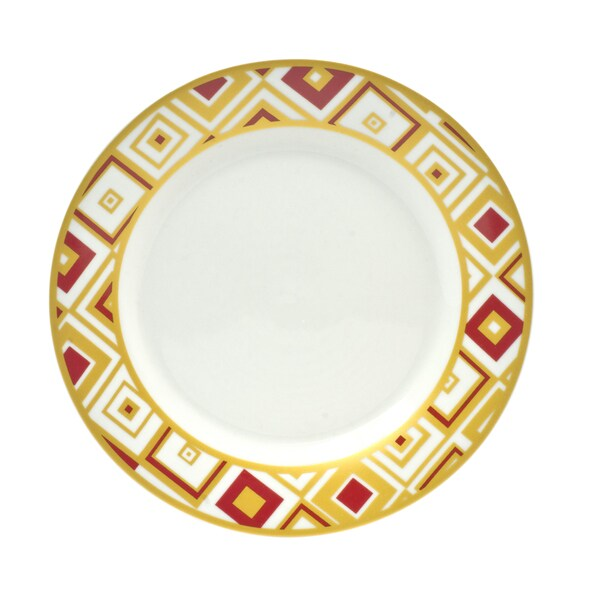 Xena Ruby Salad Plates (Set of 4)