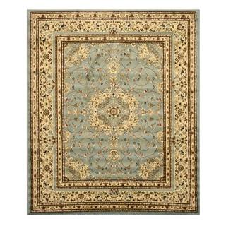 EORC Blue Esfahan Rug (5'3 x 7'3)