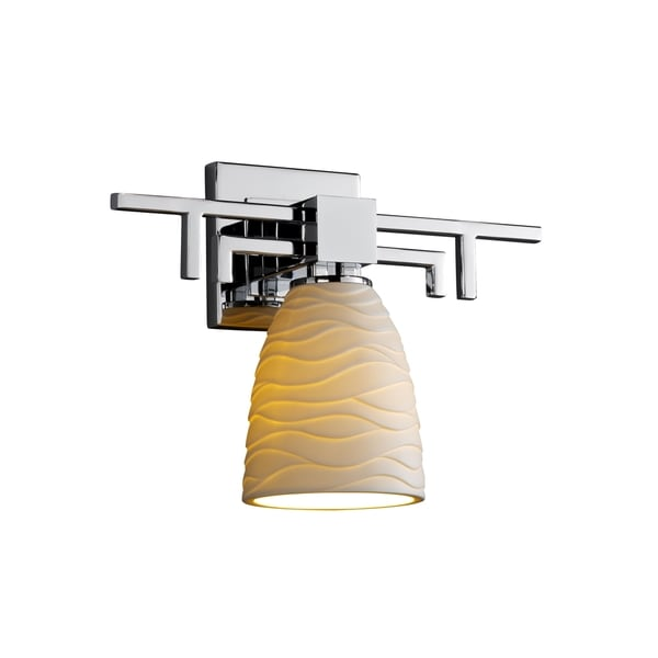 Justice Design Group Limoges Aero Sconce, Short Tapered Cylinder