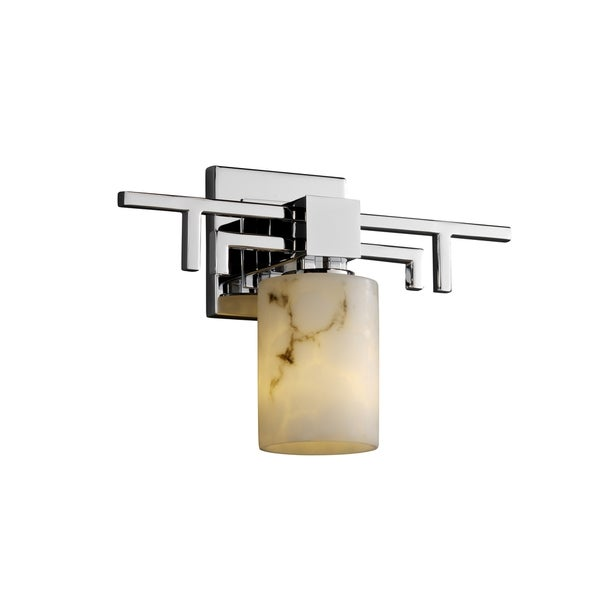 Justice Design Group LumenAria Aero Sconce, Cylinder with Flat Rim