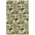 Moods Sand Brasil Floral Wool Rug (8' x 10')