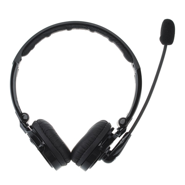 Patuoxun 2-in-1 Bluetooth Wireless Over-the-head Boom Mic Foldable Noise Cancelling Headphones