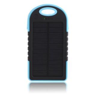 Patuoxun 5000mAh Dual-USB Waterproof Solar Charger Power Bank