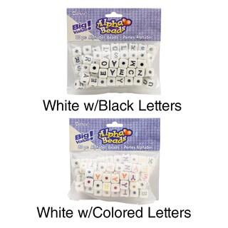 Alphabet Cube Beads 12mm 80/Pkg