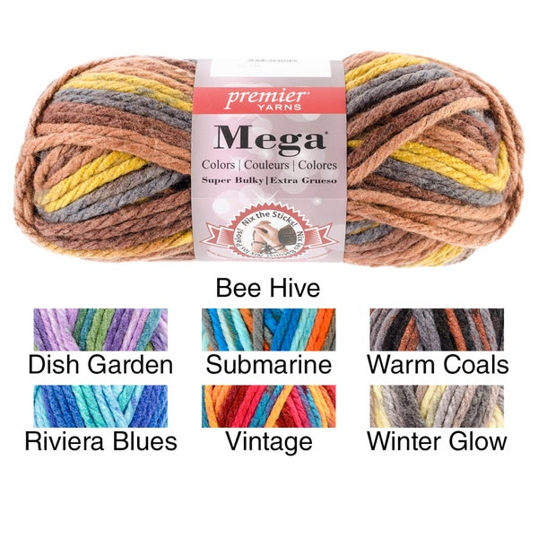 Mega Colors Yarn