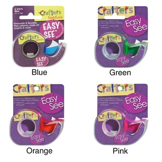 """Crafter's Easy See Removable Craft Tape .5""""X720"""""""