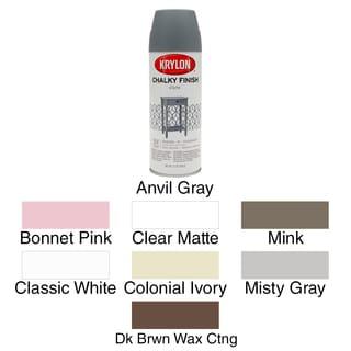 Chalky Finish Aerosol Spray Paint 12oz